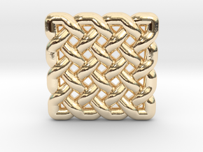 0509 Celtic Knotting - Regular Grid [4,4] in 14k Gold Plated