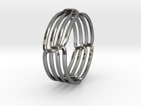 Wired Ring in Premium Silver