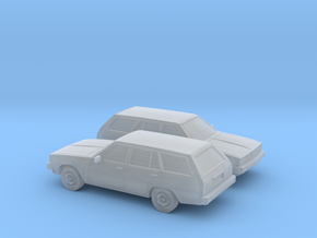 1/160 2X  1978 Mitsubish Galant Station Wagon in Frosted Ultra Detail