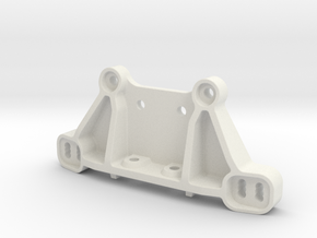 0031 - Dyna Storm D3 Shock Tower Mount in White Strong & Flexible