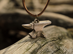 Anvil Pendant in Stainless Steel