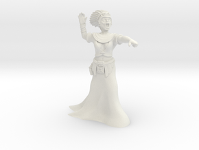 35mm Cleopatra Zombie Witch in White Strong & Flexible