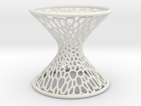 Hyperboloid Mathart in White Strong & Flexible