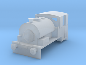 """N gauge Bagnall """"Alfred""""/""""Judy"""" 0-4-0ST in Frosted Ultra Detail"""