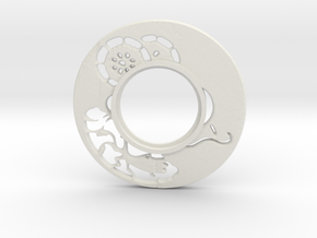 MHS compatible Tsuba 6 in White Strong & Flexible