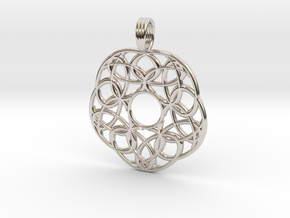 STARCHILD BLOSSOM in Rhodium Plated