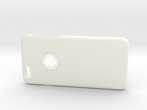 Iphone 6 Case First Order in White Strong & Flexible Polished