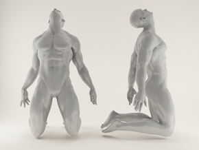 Strong Man scale 1/24  2016005 in Frosted Ultra Detail