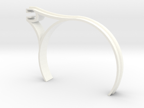 Single Floating Outrigging Updated in White Strong & Flexible Polished