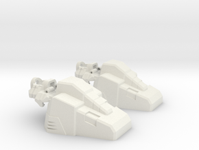 Aerial Team Combiner Slippers in White Strong & Flexible