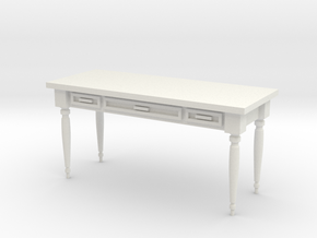 Hallway Table in White Strong & Flexible