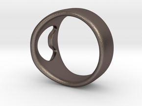 Bottle Opener Ring in Stainless Steel