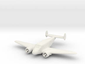 1/200 Beechcraft Model 18 in White Strong & Flexible
