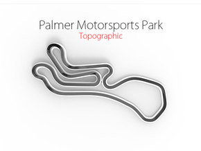 Palmer Motorsports Park | Large in Full Color Sandstone