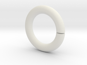 Roman-shade-ring in White Strong & Flexible