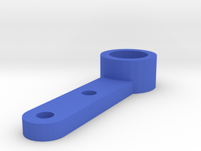MagRacer Guide [MAGracing] 2mm Holes - 6mm Mag in Blue Strong & Flexible Polished