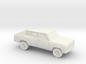 1/87 1979 Dodge D-200 in White Strong & Flexible