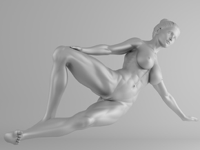 Fitness Girl 015 Scale 1/10 in White Strong & Flexible