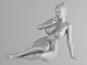 Scale in 1/32 Plump sexy girl 002 in Frosted Ultra Detail