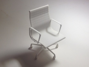 "Eames Chair - 4.4"" tall in White Strong & Flexible"
