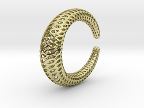 Dragontail Bracelet 65mm in 18k Gold Plated