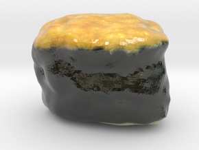 The Sushi of Natto-mini in Coated Full Color Sandstone