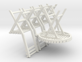 C-43-table-and-4-chairs-1a in White Strong & Flexible