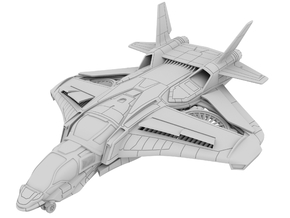 1:72_Ws_Quinjet [x1] in White Strong & Flexible