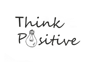 Think positive in Black Strong & Flexible