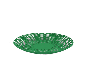 Fruit bowl in Green Strong & Flexible Polished