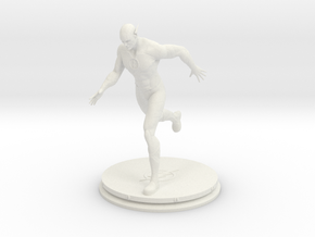 The Flash Statue 10 Cm in White Strong & Flexible