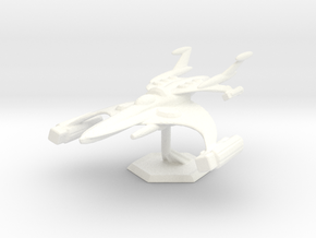 Star Sailers - Chase Class - Astro Fighter in White Strong & Flexible Polished