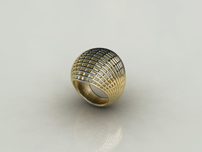Wire Ring 2 in 14K Gold