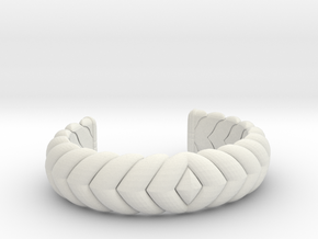 V CUFF 2016 MEDIUM in White Strong & Flexible