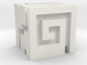 Nuva Cube in White Strong & Flexible