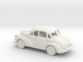 Morris Minor 1/64 1:64 Scale in White Strong & Flexible