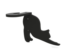 "Bracket ""Cat"" (right) in Black Strong & Flexible"