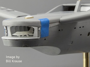 1/350 F-104 Starfighter with Gear Down in Frosted Ultra Detail