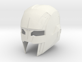 Nova Corp Helmet: Guardians of the Galaxy in White Strong & Flexible