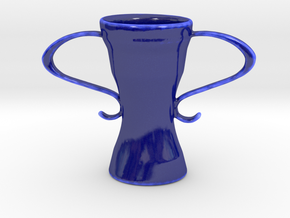 Victory in Gloss Cobalt Blue Porcelain