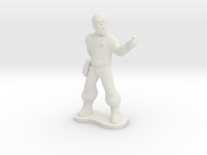 Starfleet Officer in White Strong & Flexible