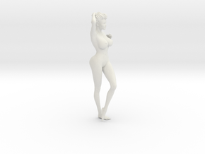 1/9 Elegant lady 008 in White Strong & Flexible