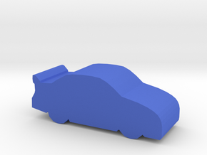 Game Piece, Stock Race Car in Blue Strong & Flexible Polished