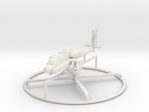 1/285 AH-64D Apache Longbow in White Strong & Flexible