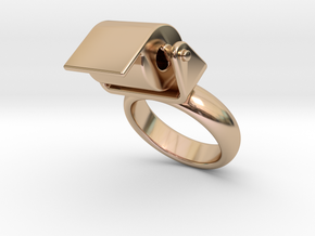 Toilet Paper Ring 26 – Italian Size 26 in 14k Rose Gold Plated