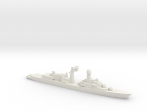 Tourville-class frigate (Early Proposal), 1/1800 in White Strong & Flexible