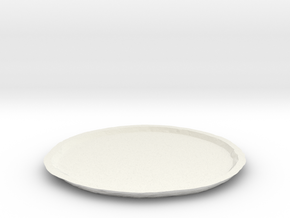 Vesta Asteroid Planter Dish (large) in White Strong & Flexible