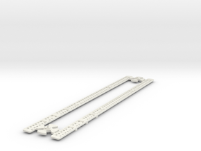 L-32-single-level-crossing-gate-stick-gears-1a in White Strong & Flexible