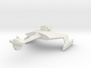 K't'inga Class   D7 Battlecruiser in White Strong & Flexible
