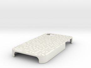A-maze-ing Case iPhone 4/4s in White Strong & Flexible